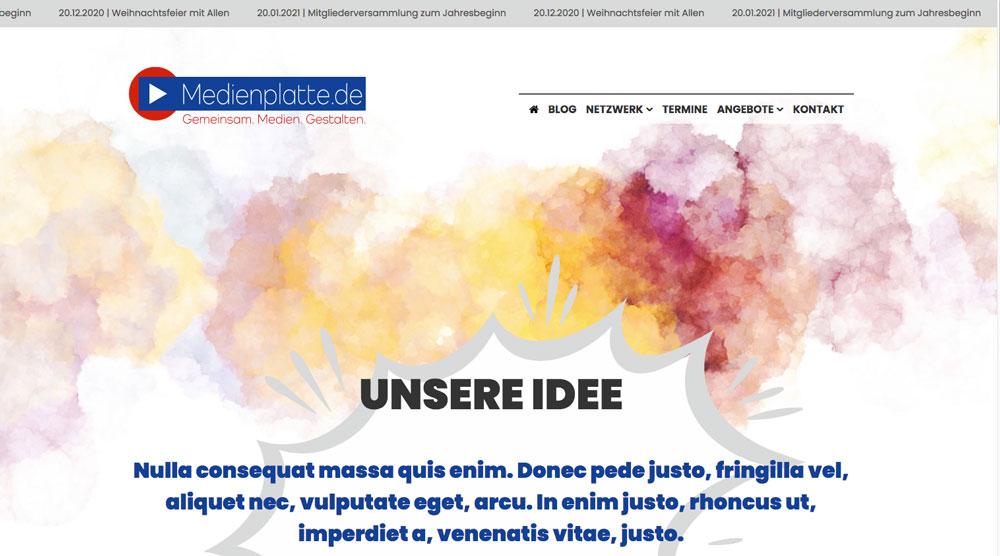 Read more about the article Projekt Medienplatte