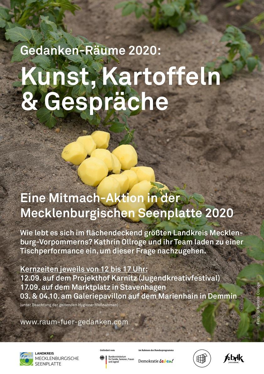 """Das Kunstprojekt """"Gedanken-Räume in Mecklenburg-Vorpommern"""""""