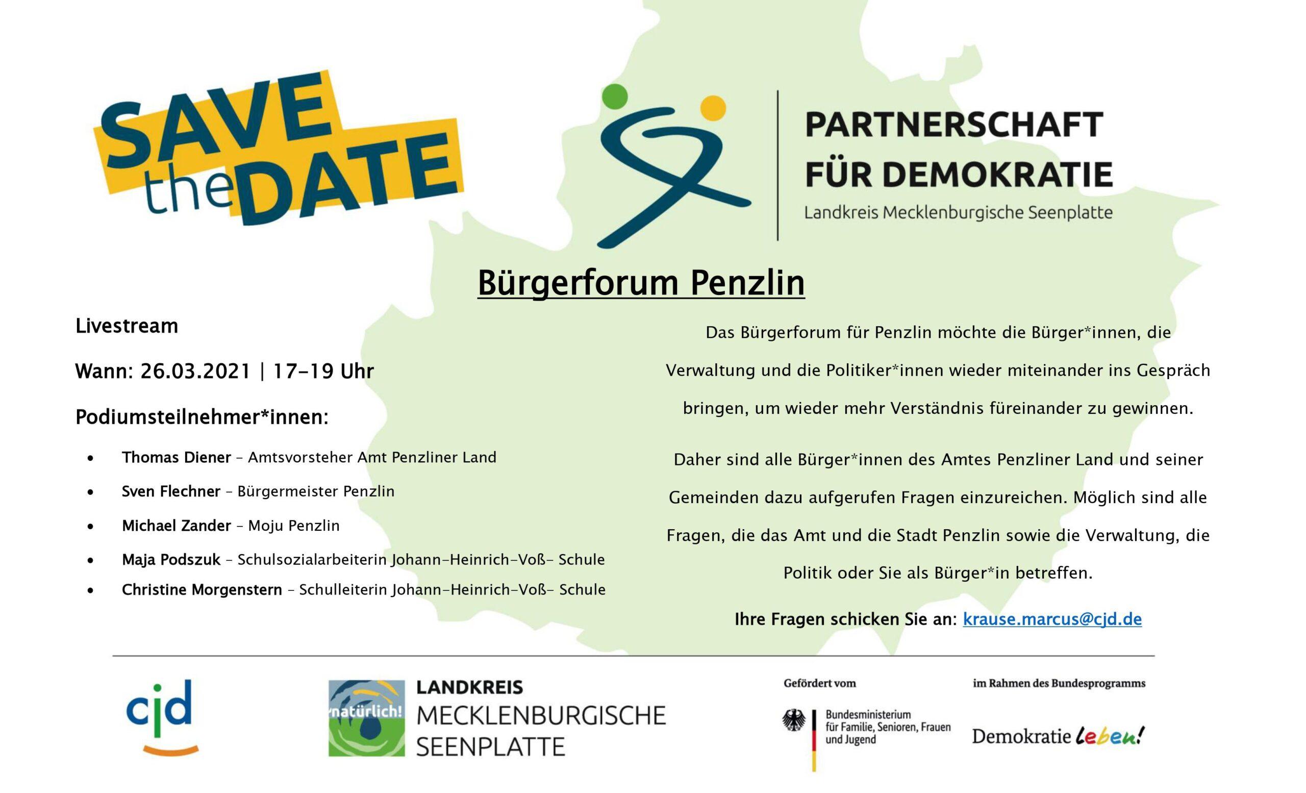 Read more about the article Aufruf zum Bürgerforum