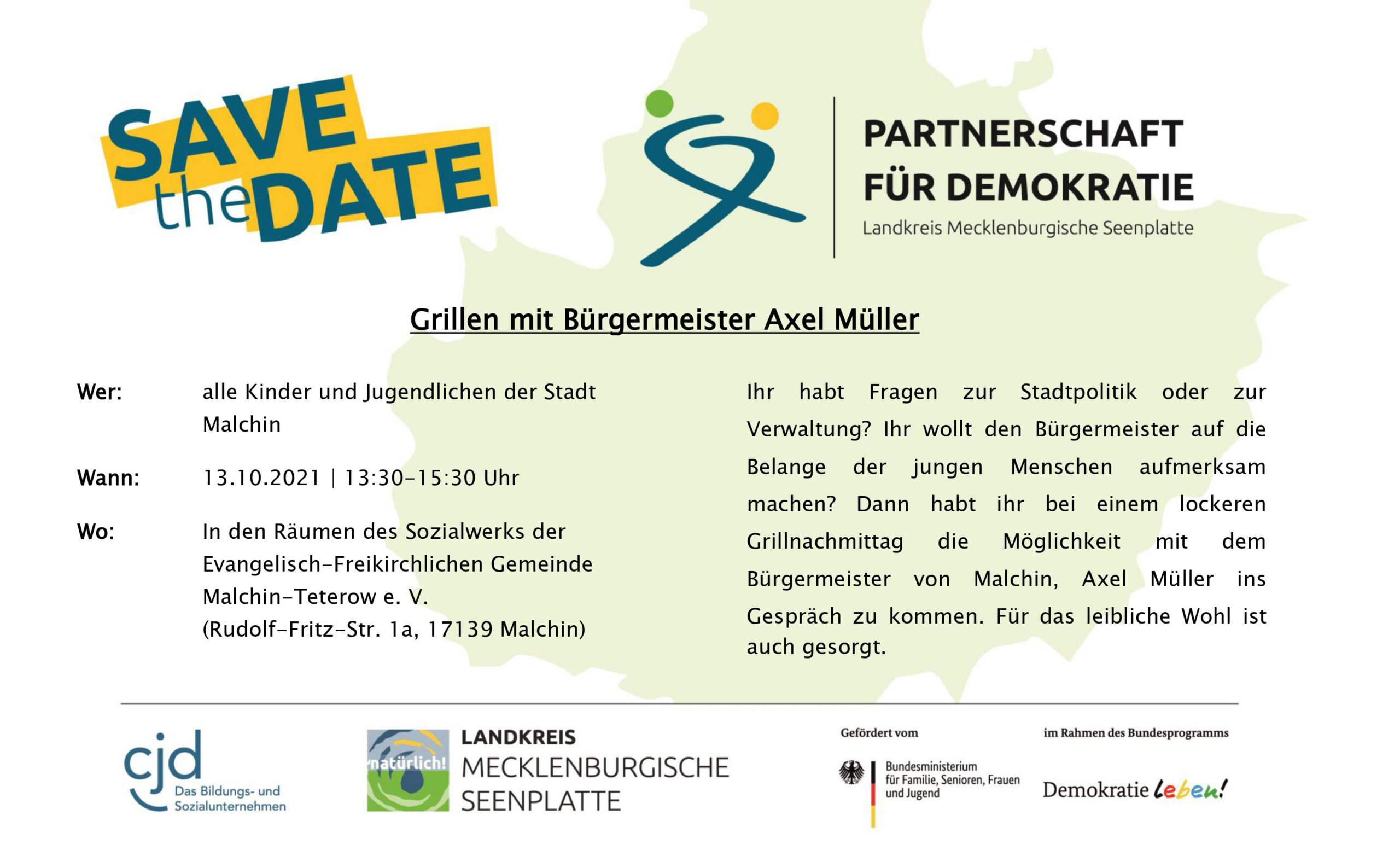 Read more about the article Grillen mit Bürgermeister Axel Müller